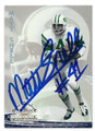 MATT SNELL NEW YORK JETS AUTOGRAPHED FOOTBALL CARD #40116E