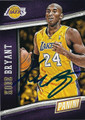 KOBE BRYANT LOS ANGELES LAKERS AUTOGRAPHED BASKETBALL CARD #40816A