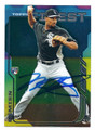MARCUS SEMIEN CHICAGO WHITE SOX AUTOGRAPHED ROOKIE BASEBALL CARD #40916D