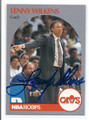 LENNY WILKENS CLEVELAND CAVALIERS AUTOGRAPHED BASKETBALL CARD #41116C
