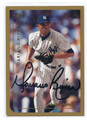 MARIANO RIVERA NEW YORK YANKEES AUTOGRAPHED BASEBALL CARD #41216A