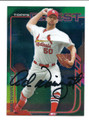 ADAM WAINWRIGHT ST LOUIS CARDINALS AUTOGRAPHED BASEBALL CARD #41216G