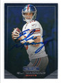 ELI MANNING NEW YORK GIANTS AUTOGRAPHED FOOTBALL CARD #41916F