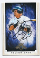NELSON CRUZ SEATTLE MARINERS AUTOGRAPHED BASEBALL CARD #42016B