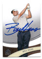 BILL HAAS AUTOGRAPHED GOLF CARD #42316B