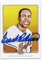 FRANK ROBINSON BALTIMORE ORIOLES AUTOGRAPHED BASEBALL CARD #42316F