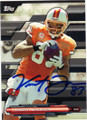 VINCENT JACKSON TAMPA BAY BUCCANEERS AUTOGRAPHED FOOTBALL CARD #42416F