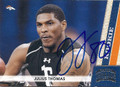 JULIUS THOMAS DENVER BRONCOS AUTOGRAPHED ROOKIE FOOTBALL CARD #42516A