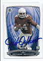 JACKSON JEFFCOAT SEATTLE SEAHAWKS AUTOGRAPHED ROOKIE FOOTBALL CARD #42516F