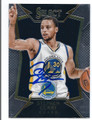 STEPHEN CURRY GOLDEN STATE WARRIORS AUTOGRAPHED BASKETBALL CARD #42616C