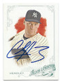 CHASE HEADLEY NEW YORK YANKEES AUTOGRAPHED BASEBALL CARD #42616F