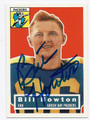 BILL HOWTON GREEN BAY PACKERS AUTOGRAPHED FOOTBALL CARD #42616H