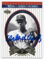 ORLANDO CEPEDA ST LOUIS CARDINALS AUTOGRAPHED BASEBALL CARD #42916D