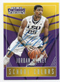 JORDAN MICKEY LOUSIANA STATE UNIVERSITY TIGERS AUTOGRAPHED BASKETBALL CARD #43016E