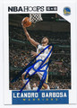 LEANDRO BARBOSA GOLDEN STATE WARRIORS AUTOGRAPHED BASKETBALL CARD #50416E
