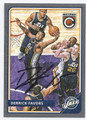 DERRICK FAVORS UTAH JAZZ AUTOGRAPHED BASKETBALL CARD #50516A