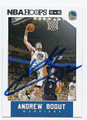 ANDREW BOGUT GOLDEN STATE WARRIORS AUTOGRAPHED BASKETBALL CARD #50616A