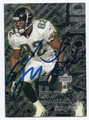 JIMMY SMITH JACKSONVILLE JAGUARS AUTOGRAPHED FOOTBALL CARD #50816D