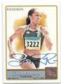SANYA RICHARDS AUTOGRAPHED OLYMPICS TRACK & FIELD CARD #51216B