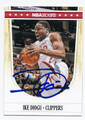 IKE DIOGU LOS ANGELES CLIPPERS AUTOGRAPHED BASKETBALL CARD #51516D