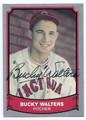 BUCKY WALTERS CINCINNATI REDS AUTOGRAPHED BASEBALL CARD #52416A