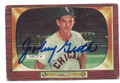 JOHNNY GROTH CHICAGO WHITE SOX AUTOGRAPHED VINTAGE BASEBALL CARD #52416D
