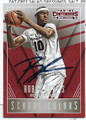 BOBBY PORTIS UNIVERSITY OF ARKANSAS RAZORBACKS AUTOGRAPHED ROOKIE BASKETBALL CARD #52816A