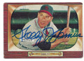 SOLLY HEMUS ST LOUIS CARDINALS AUTOGRAPHED VINTAGE BASEBALL CARD #52916A