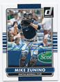 MIKE ZUNINO SEATTLE MARINERS AUTOGRAPHED BASEBALL CARD #60216E
