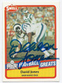 DAVID DEACON JONES LOS ANGELES RAMS AUTOGRAPHED VINTAGE FOOTBALL CARD #60316A