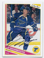 JAY BOUWMEESTER ST LOUIS BLUES AUTOGRAPHED HOCKEY CARD #60416A