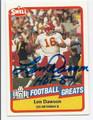LEN DAWSON KANSAS CITY CHIEFS AUTOGRAPHED VINTAGE FOOTBALL CARD #60416D