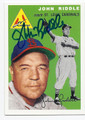 JOHN RIDDLE ST LOUIS CARDINALS AUTOGRAPHED BASEBALL CARD #60916F