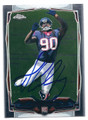 JADEVEON CLOWNEY HOUSTON TEXANS AUTOGRAPHED ROOKIE FOOTBALL CARD #61116E