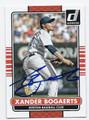 XANDER BOGAERTS BOSTON RED SOX AUTOGRAPHED BASEBALL CARD #61216C