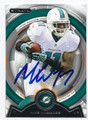 MIKE WALLACE MIAMI DOLPHINS AUTOGRAPHED FOOTBALL CARD #61216F