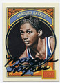MARQUES HAYNES HARLEM GLOBETROTTERS AUTOGRAPHED BASKETBALL CARD #61416C