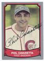 PHIL CAVARETTA CHICAGO CUBS AUTOGRAPHED VINTAGE BASEBALL CARD #61416D