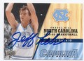 JEFF LEBO NORTH CAROLINA TAR HEELS AUTOGRAPHED BASKETBALL CARD #61516D