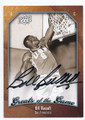 BILL RUSSELL UNIVERSITY OF SAN FRANCISCO AUTOGRAPHED BASKETBALL CARD #62516C