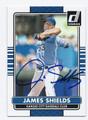JAMES SHIELDS KANSAS CITY ROYALS AUTOGRAPHED BASEBALL CARD #62816A