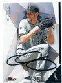 CHRIS SALE CHICAGO WHITE SOX AUTOGRAPHED BASEBALL CARD #63016D