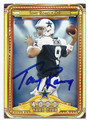 TONY ROMO DALLAS COWBOYS AUTOGRAPHED FOOTBALL CARD #70216E