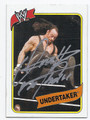 THE UNDERTAKER AUTOGRAPHED WRESTLING CARD #70416A