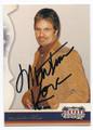 MARTIN KOVE AUTOGRAPHED CARD #70616C