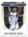 QUINCY PONDEXTER MEMPHIS GRIZZLIES AUTOGRAPHED BASKETBALL CARD #70616F