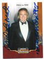PAUL Le MAT AUTOGRAPHED CARD #70816E