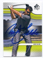 NICK FALDO AUTOGRAPHED GOLF CARD #71216C