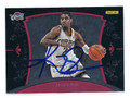 KYRIE IRVING CLEVELAND CAVALIERS AUTOGRAPHED & NUMBERED ROOKIE BASKETBALL CARD #71516A