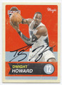 DWIGHT HOWARD ORLANDO MAGIC AUTOGRAPHED BASKETBALL CARD #72016C